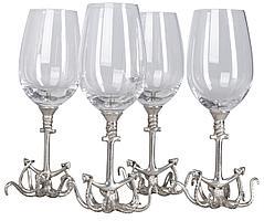 Набор бокалов для вина Sea Life (артикул Z10109)