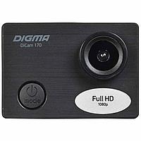 Экшн-камера Digma DiCam 170, черная (артикул 14865)