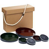 Набор Form Fluid Platter, бордово-зеленый (артикул 23338.59)