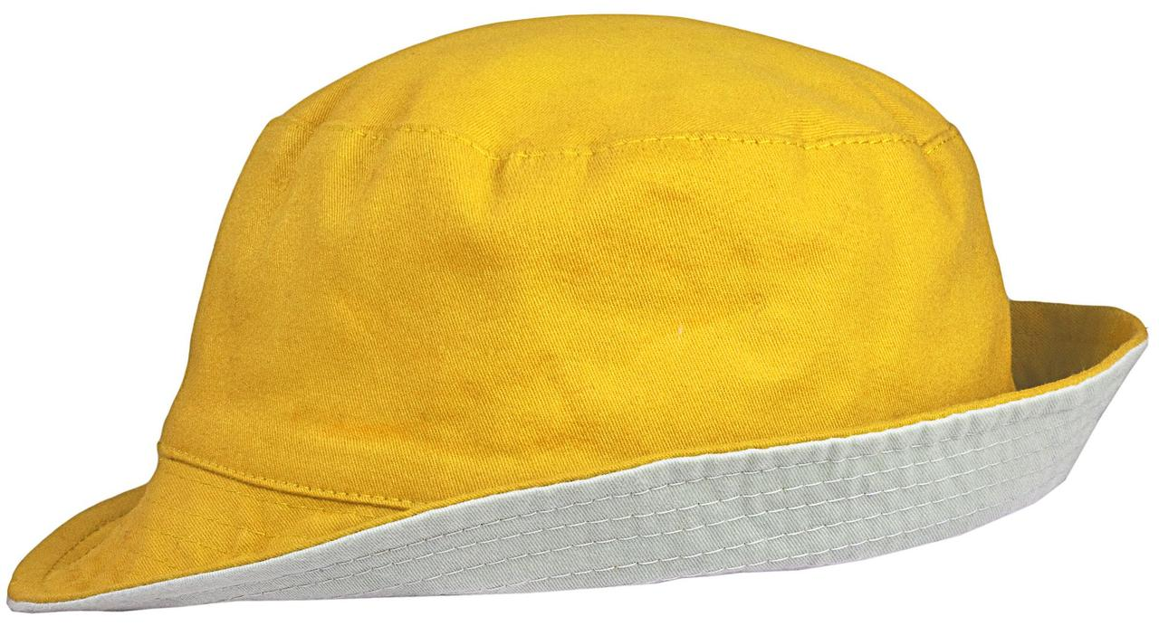 Панама Unit Summer двусторонняя, желтая с серым (артикул 6021.81)