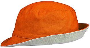 Панама Unit Summer двусторонняя, оранжевая с серым (артикул 6021.21)
