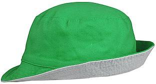 Панама Unit Summer двусторонняя, ярко-зеленая с серым (артикул 6021.91)