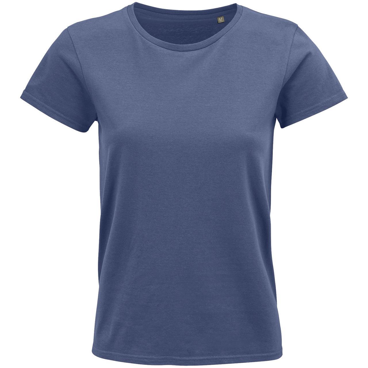 Футболка женская Crusader Women, синяя (джинс) (артикул 03581244)