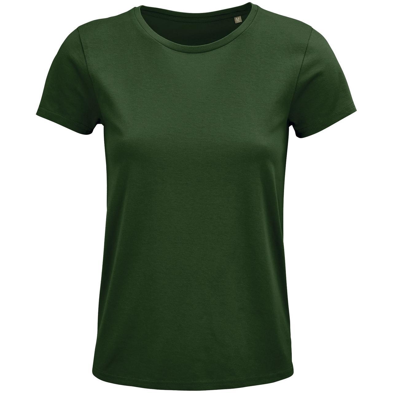 Футболка женская Crusader Women, темно-зеленая (артикул 03581264)