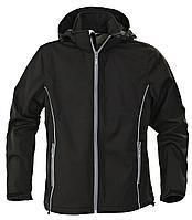 Куртка софтшелл мужская Skyrunning, черная (артикул 6575.30)