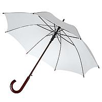 Зонт-трость Standard, белый (артикул 12393.66)