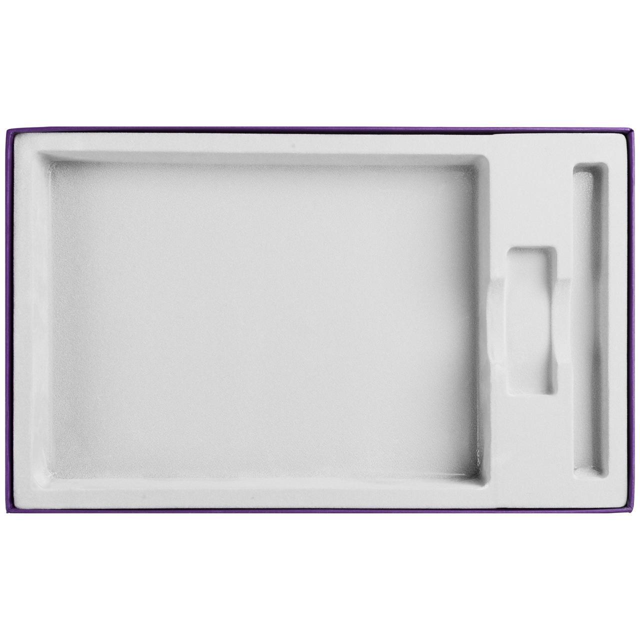 Коробка In Form под ежедневник, флешку, ручку, фиолетовая (артикул 10067.70)