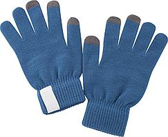 Сенсорные перчатки Scroll, синие (артикул 2793.40)
