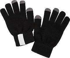 Сенсорные перчатки Scroll, черные (артикул 2793.30)