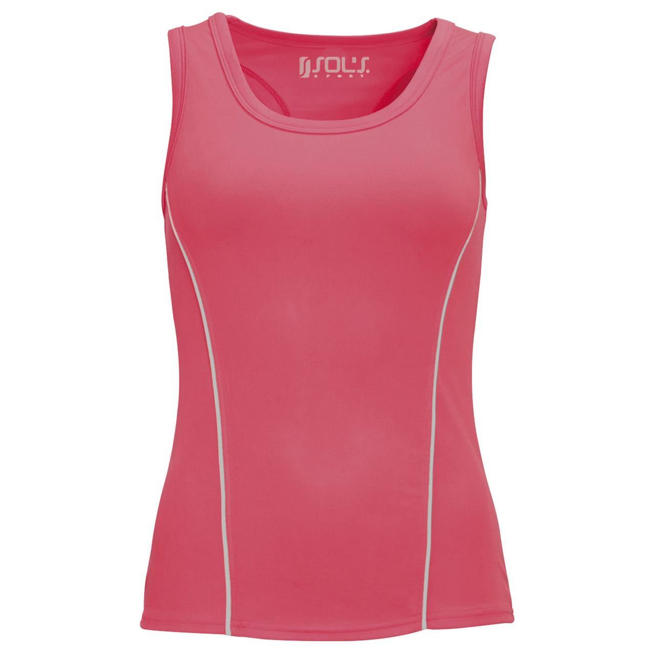 Спортивный топ Rio неоновый розовый (коралл) (артикул 01418153)
