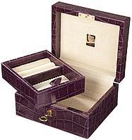 Шкатулка для драгоценностей LIVERPOOL, фиолетовая (артикул Z7083)