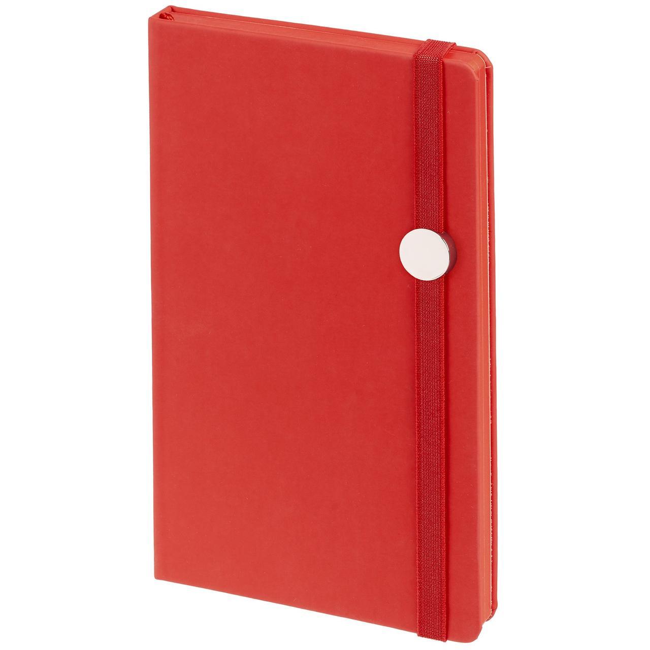 Блокнот Shall Round, красный (артикул 11882.50)