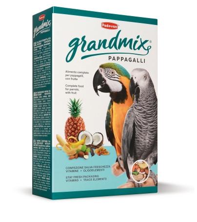 Padovan Grandmix Pappagalli, для крупных попугаев, уп. 600гр.