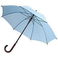 Зонт-трость Unit Standard, голубой (артикул 393.14)