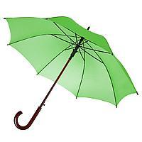 Зонт-трость Unit Standard, зеленое яблоко (артикул 393.94), фото 1