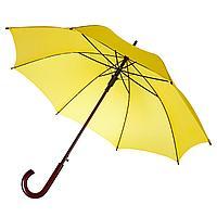 Зонт-трость Unit Standard, желтый (артикул 393.80), фото 1