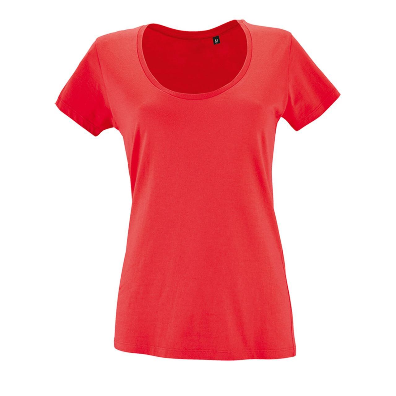 Футболка женская Metropolitan, розовая (коралловая) (артикул 02079168)