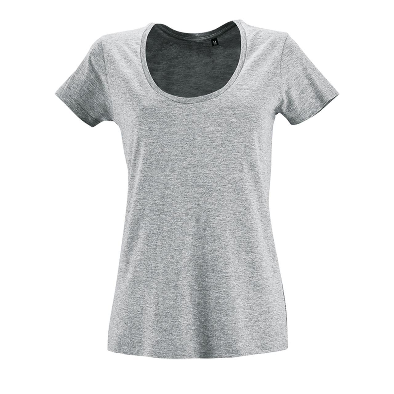 Футболка женская Metropolitan, серый меланж (артикул 02079350)