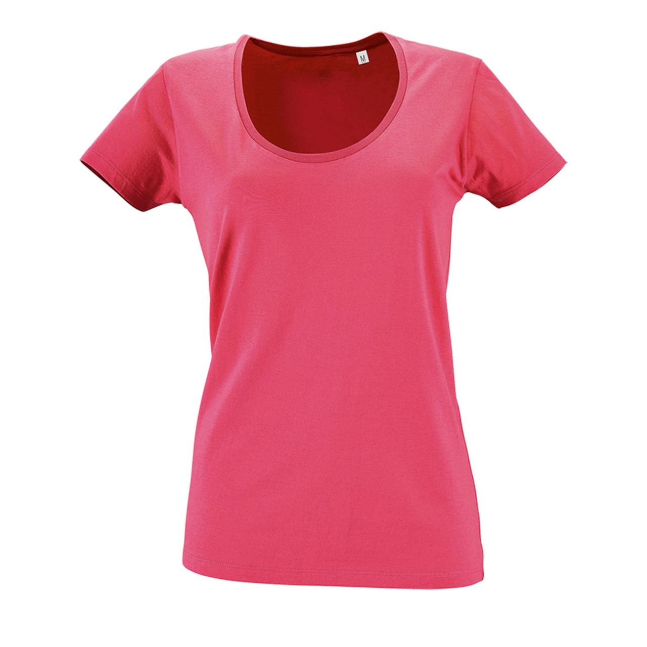 Футболка женская Metropolitan, ярко-розовая (артикул 02079138)