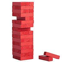 Игра «Деревянная башня мини», красная (артикул 5351.50)