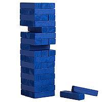 Игра «Деревянная башня мини», синяя (артикул 5351.40)