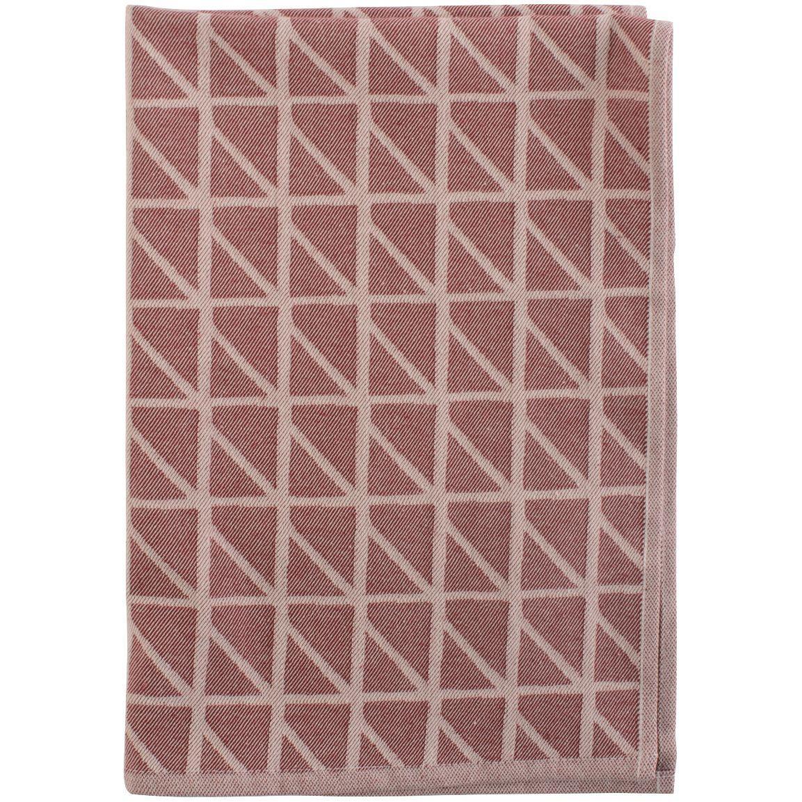 Кухонное полотенце Twist, бордовое (артикул 10633.55)