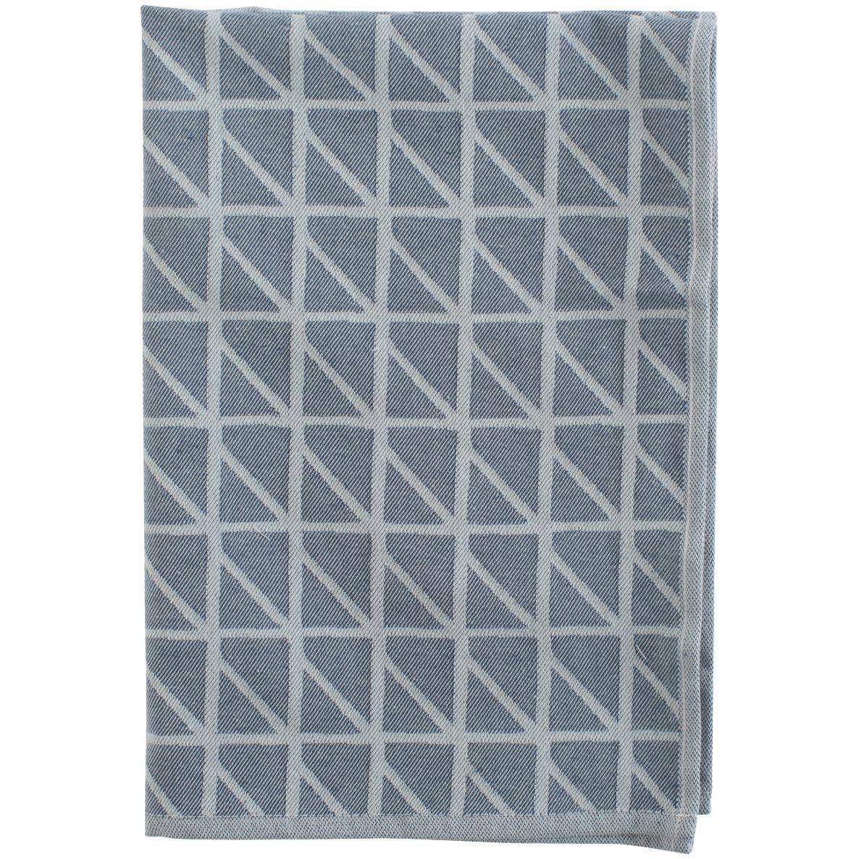 Кухонное полотенце Twist, темно-синее (артикул 10633.40)