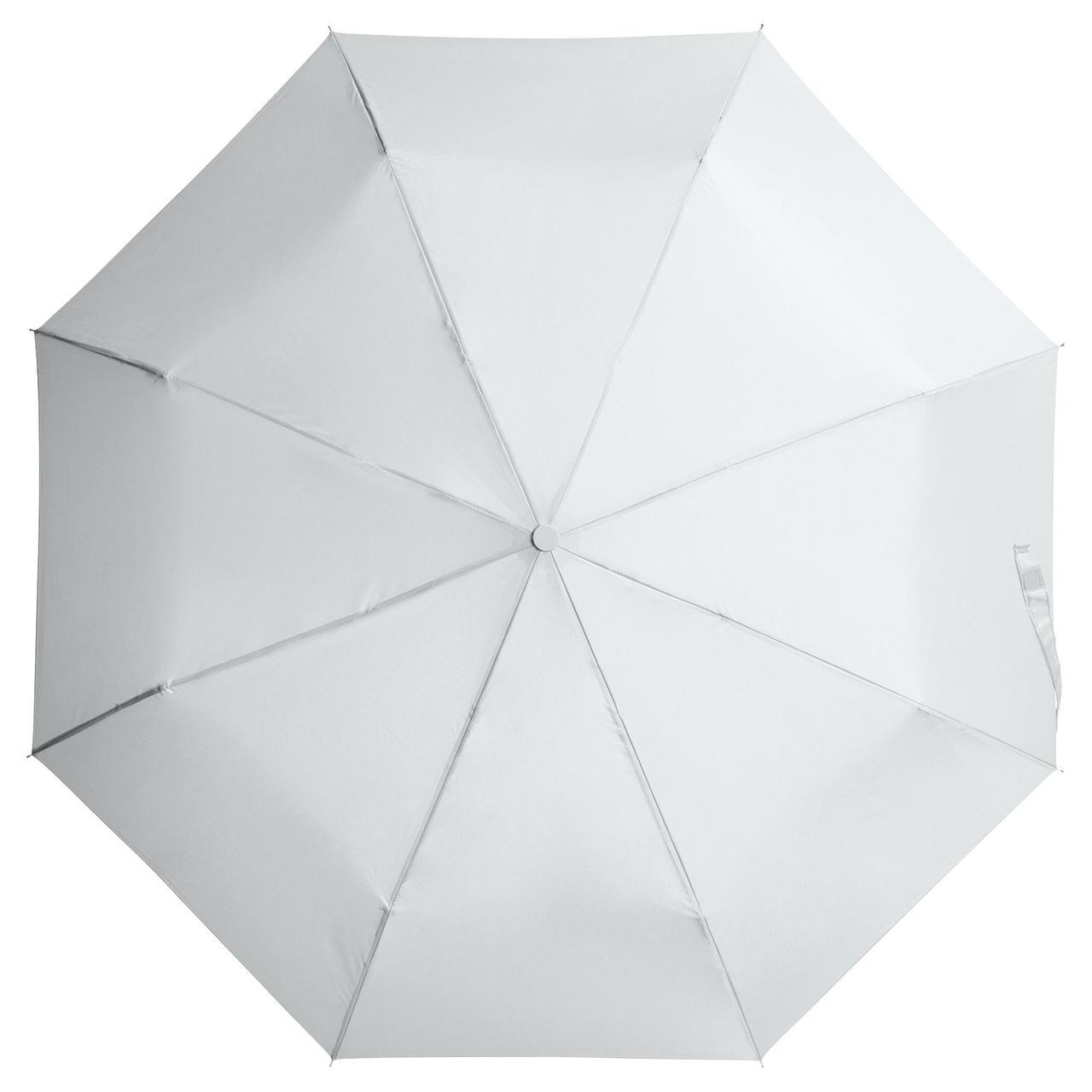 Зонт складной Unit Basic, белый (артикул 5527.66)