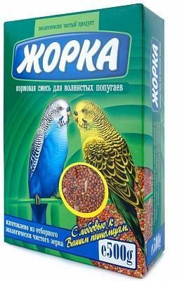 Жорка для волнистых попугаев, основной рацион, уп. 500гр.