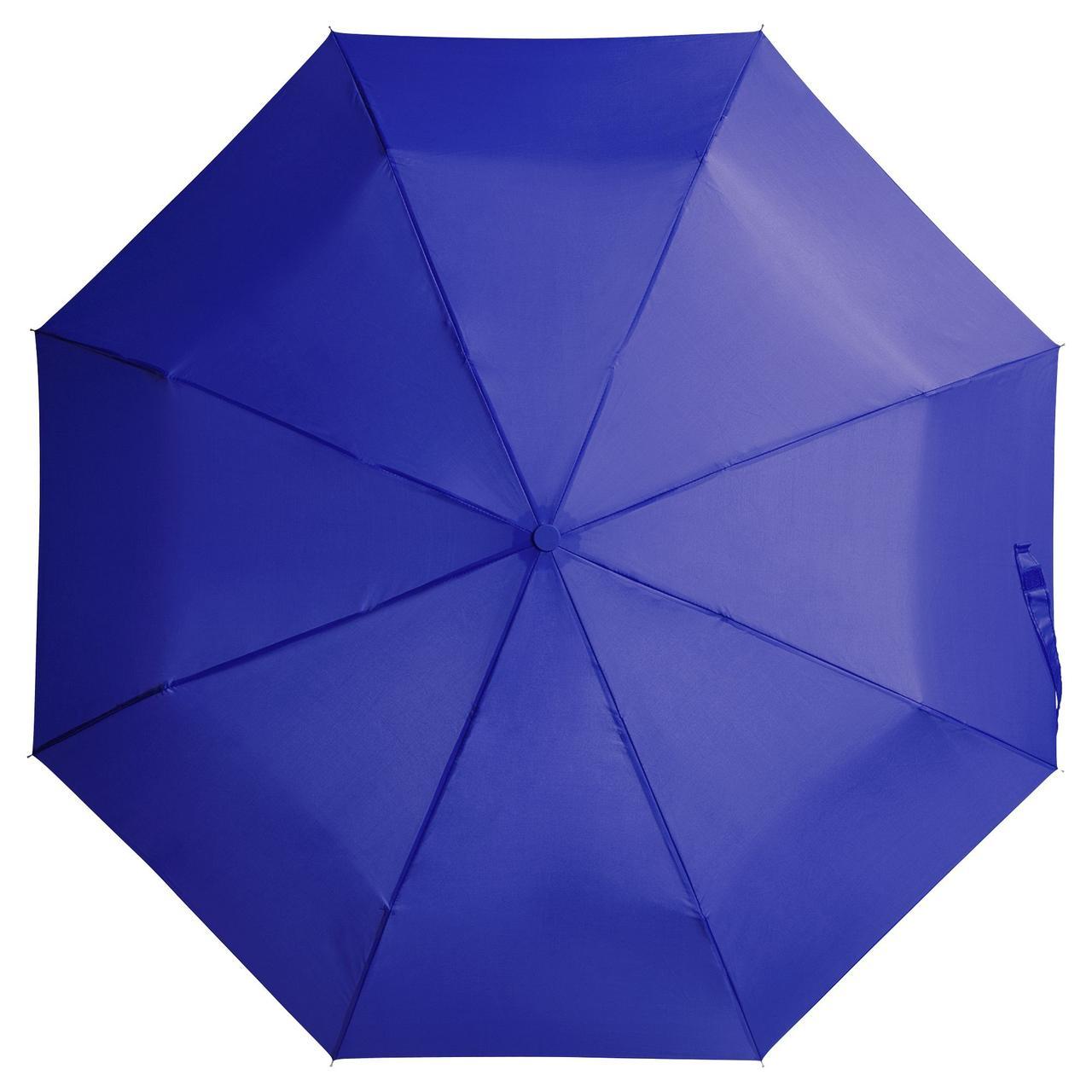 Зонт складной Unit Basic, синий (артикул 5527.40)