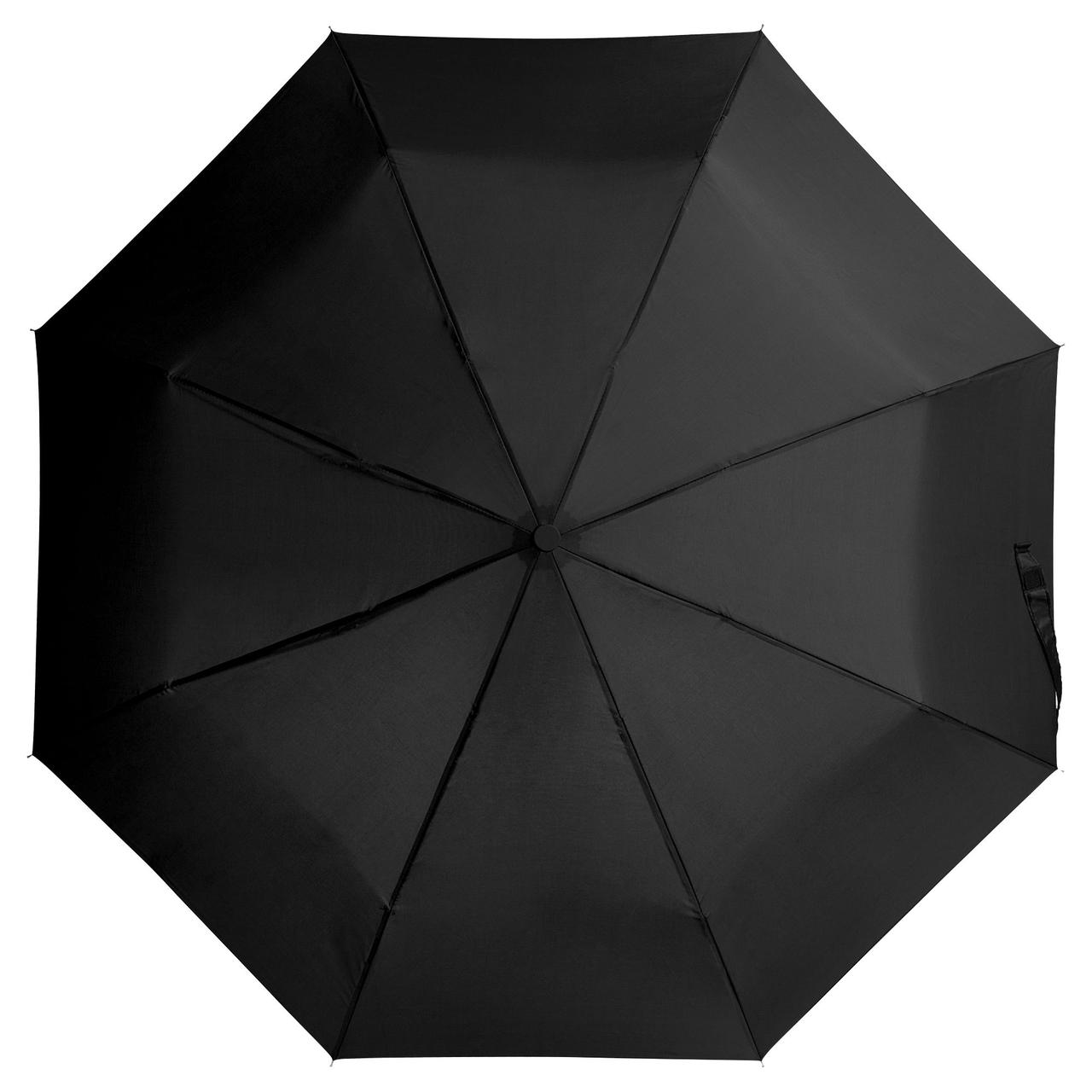 Зонт складной Unit Basic, черный (артикул 5527.30)
