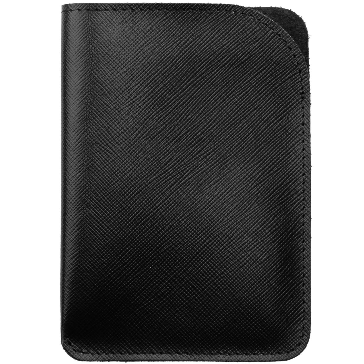 Чехол для паспорта Linen, черный (артикул 11516.30)