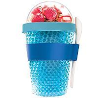 Охлаждающий контейнер Chill Yo 2 Go, голубой (артикул 10695.14)