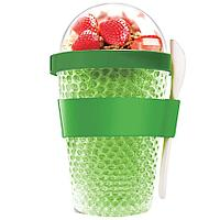 Охлаждающий контейнер Chill Yo 2 Go, зеленый (артикул 10695.90)