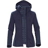 Куртка-трансформер женская Matrix, темно-синяя (артикул 11632.40)