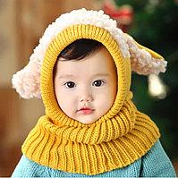 Шапка капор детская
