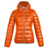Куртка пуховая женская Tarner Lady, оранжевая (артикул 1441.20)