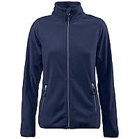 Куртка флисовая женская Twohand темно-синяя (артикул 1692.40)