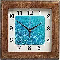 Часы настенные Treenity, дуб (артикул 90882.53)