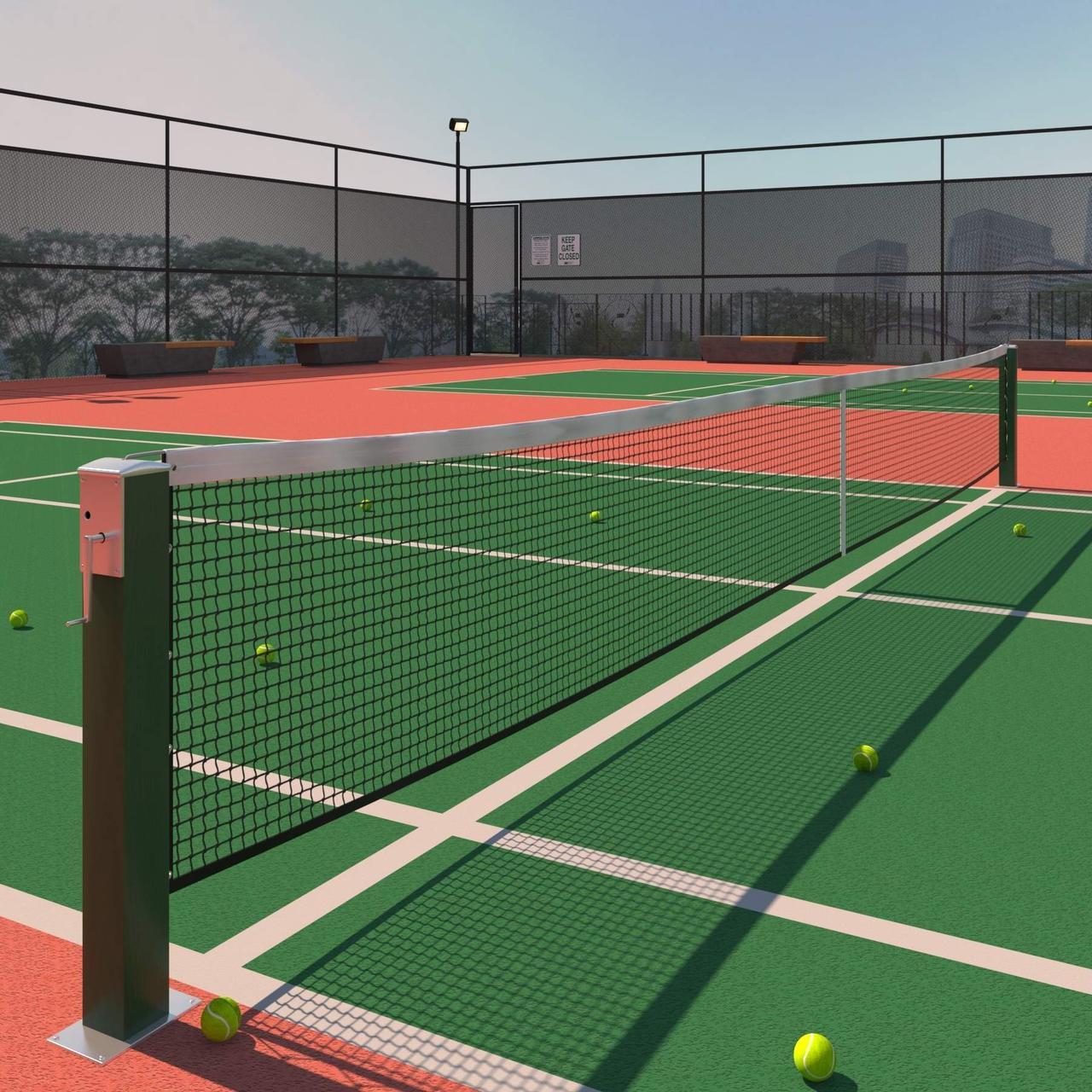 Грунтовые теннисные корты