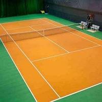 Теннисный корт постройка