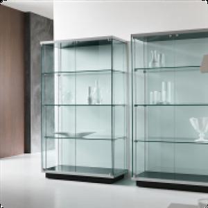 Шкафы из стекла