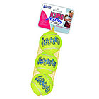 """KONG игрушка для собак Air """"Теннисный мяч"""" очень  маленький (в упаковке 3 шт) 4 см"""