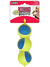 KONG игрушка для собак Ultra Squeak мячик большой  3 шт. в уп. 6 см