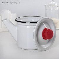 Чайник заварочный 1 л, фиксированная ручка, светлый