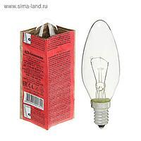 Лампа накаливания КЭЛЗ, ДС, Е14, 60 Вт, 230 В