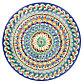 Ляган круглый Риштанская Керамика 31см, фото 5