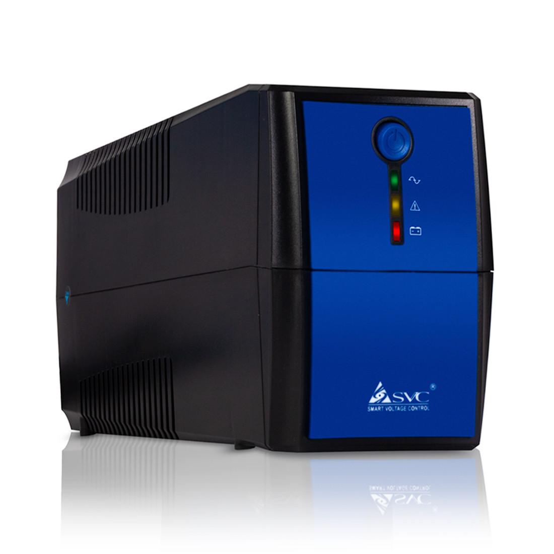 ИБП SVC V-1000  Чёрно-синий