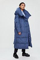 Пальто женское Finn Flare, цвет голубой, размер XL/2XL