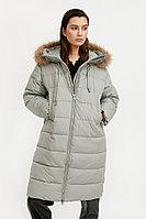 Пальто женское Finn Flare, цвет полынь, размер 2XL